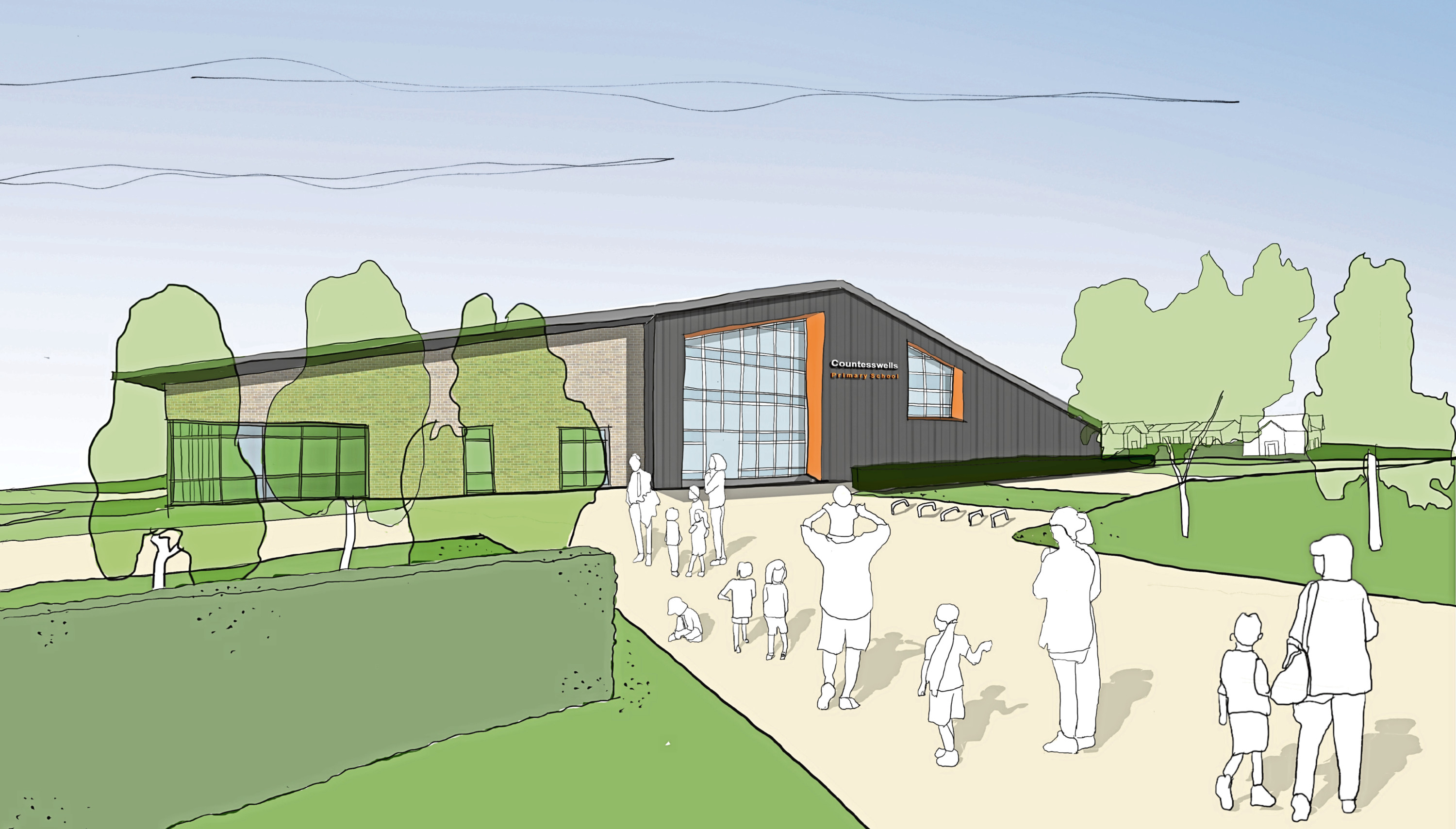 How the new school at Countesswells could look