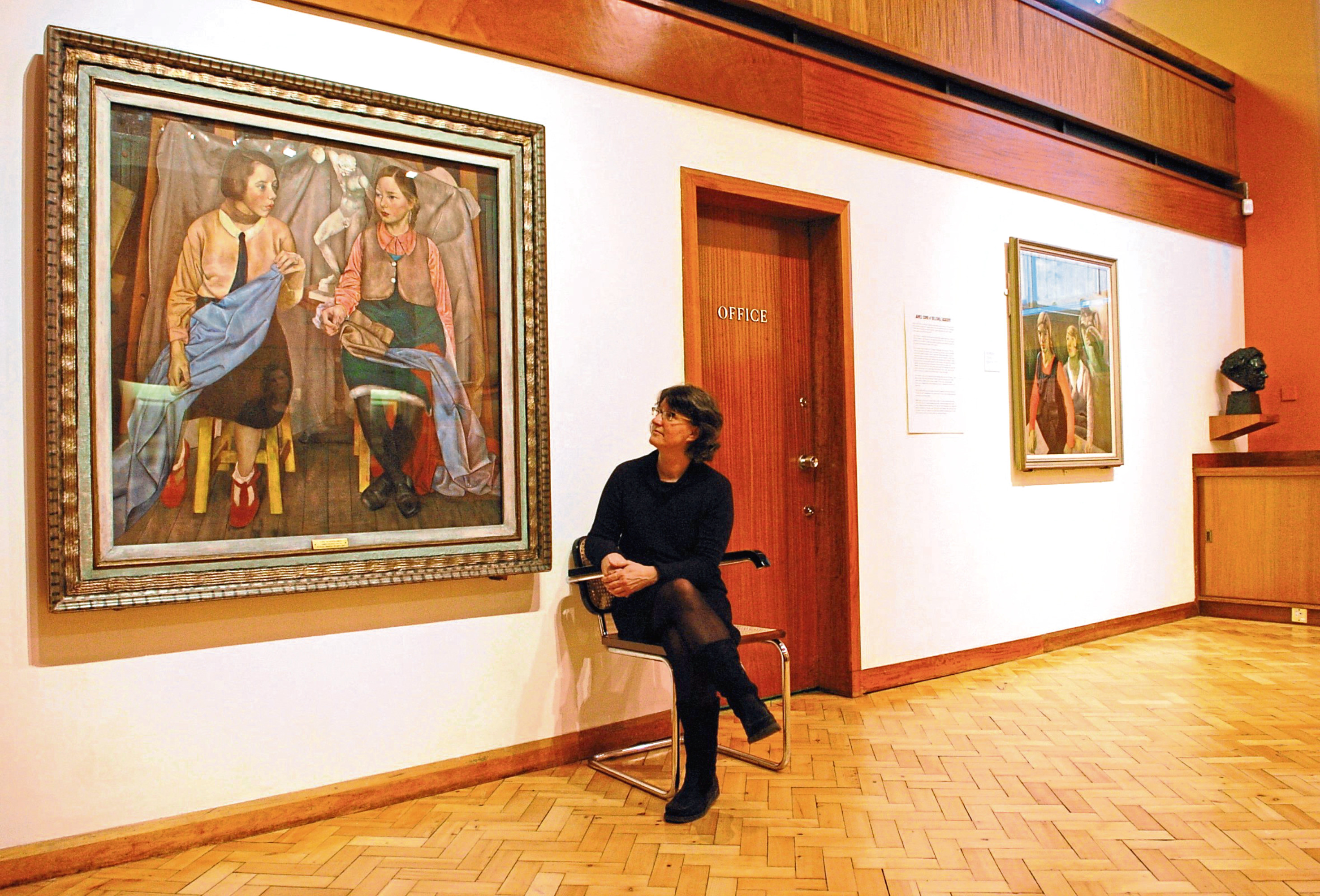 The More Museum in the Netherlands has asked Aberdeen City Council to borrow the Two Schoolgirls painting by James Cowie.