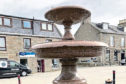 The fountain in Kintore