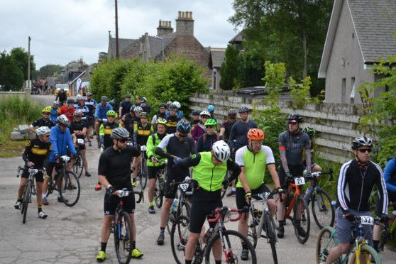 This year's Methlick Cycle Challenge took place earlier this month