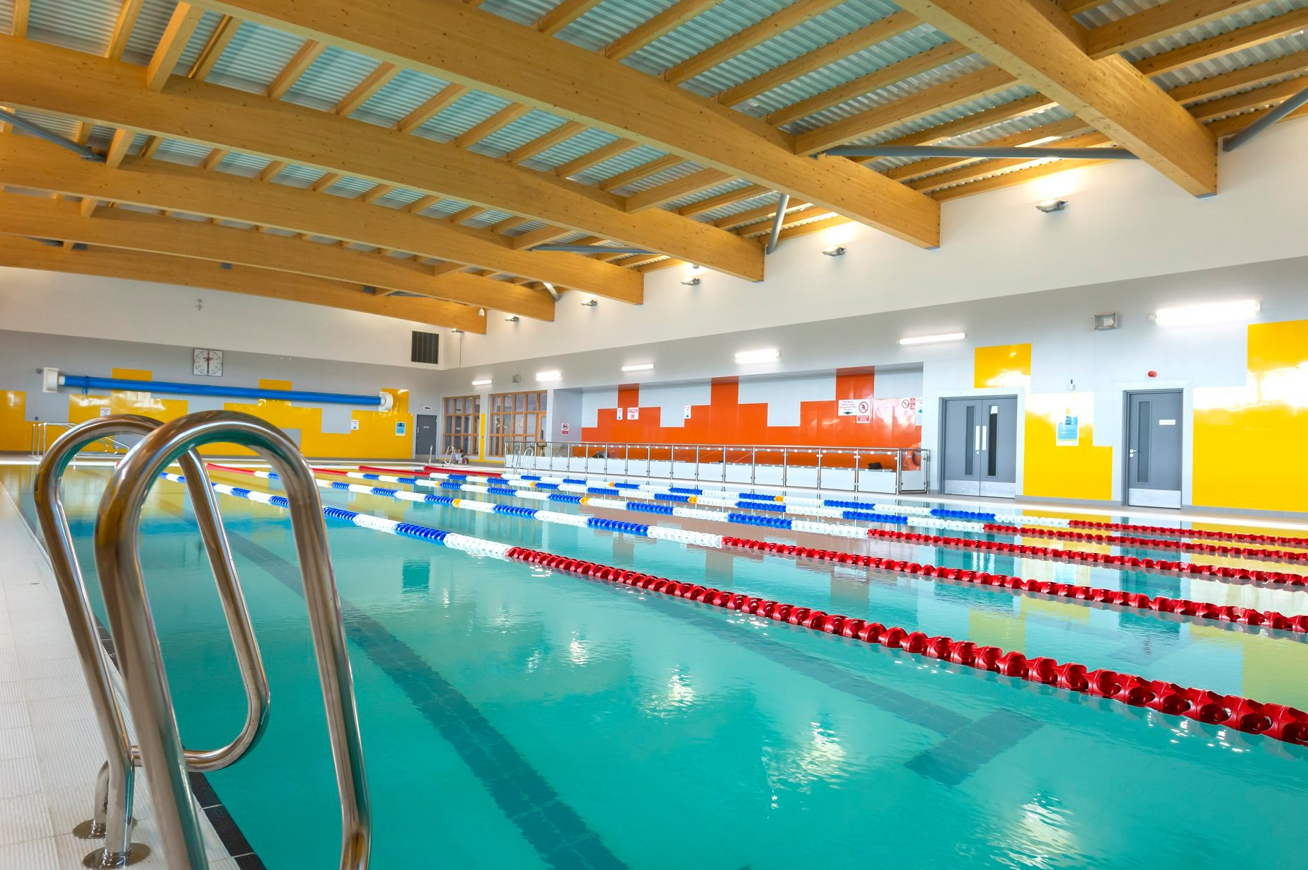 Inside the new Banchory Sports Village