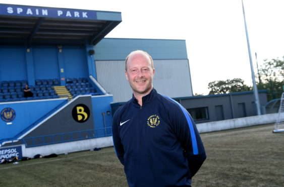 Banks o' Dee are set to unveil former Aberdeen midfielder Stuart Duff as their new signing in front of their new boardroom facilities at Spain Park. Picture by Heather Fowlie