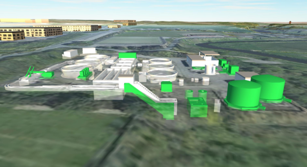 How the Ellon Waste Water Treatment Works could look