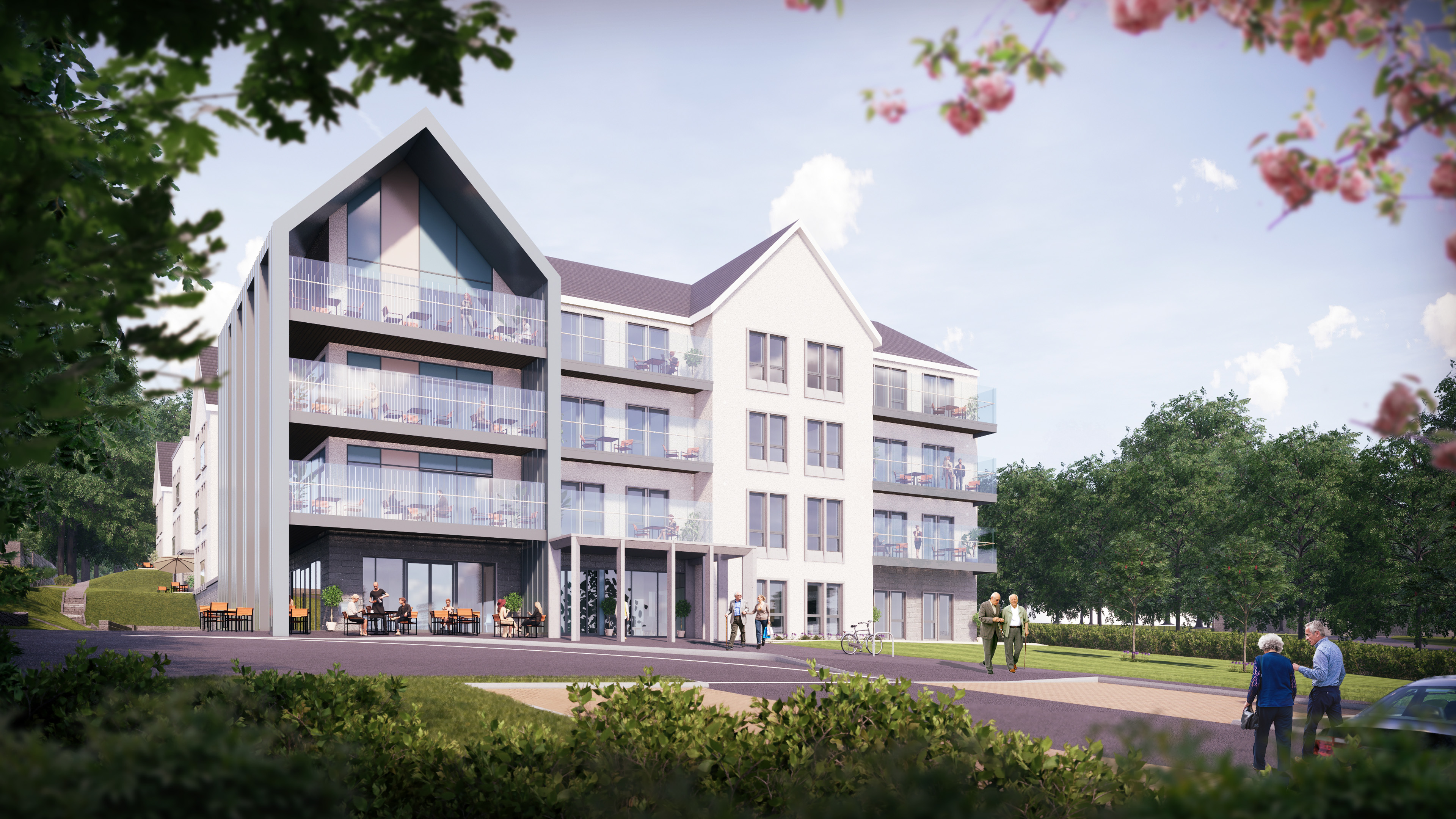 How the care home could look