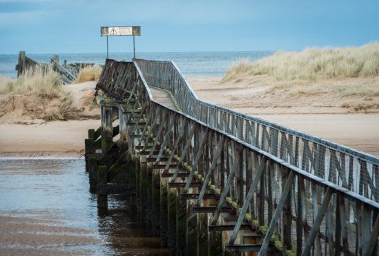 Lossiemouth Bridge at East Beach