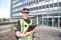 PC Julie Nicol with one of the new devices
