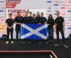 The RGU Racing team at Silverstone