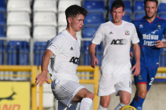 Declan Glass in action for Cove.