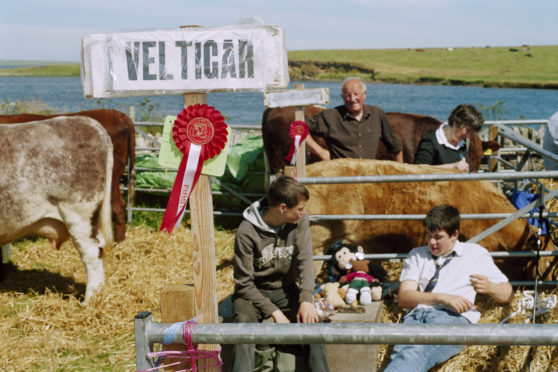 Martin Parr: Think of Scotland. Orkney Islands, The West Mainland Show