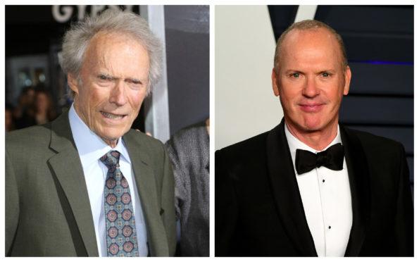 Clint Eastwood and Michael Keaton