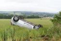 The incident happened at 8.15am on Kepplehills Road between Bucksburn