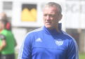 Peterhead's assistant manager Davie Nicholls.