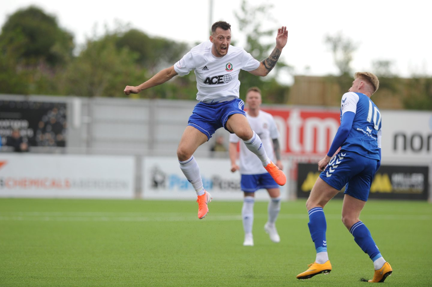 Connor Scully in action for Cove.