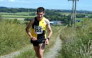 Cameron Strachan competing in last year's Chapelton of Elsick 10k