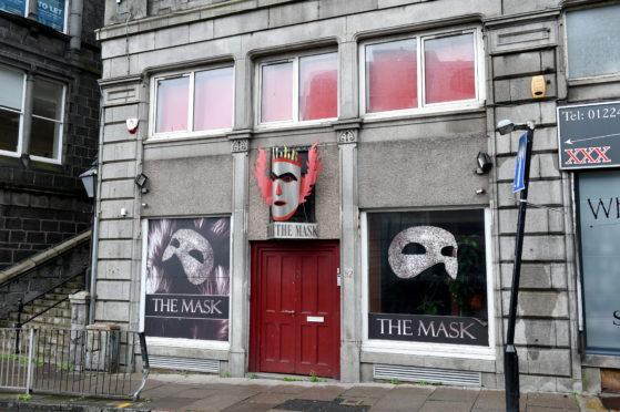 The Mask on Bridge Street, Aberdeen