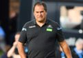 Glasgow Warriors head coach Dave Rennie