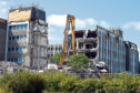 Work has begun on the demolition of Silverburn House, which was bought by Parklands View for £1 million