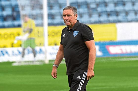 Peterhead manager, Jim McInally