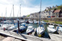 The boat yard at Banff Harbour could be extended