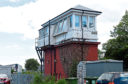 The signal box at Dyce