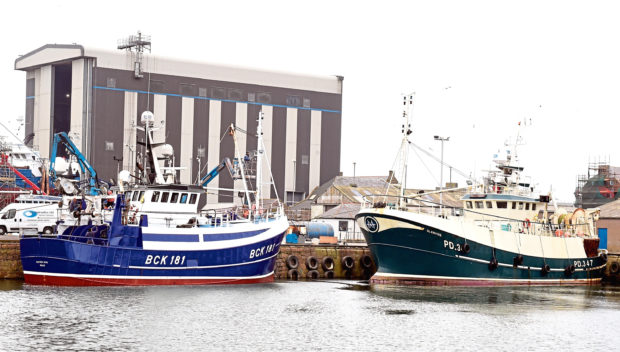 Peterhead harbour could benefit from the creation of free port zones being considered by Boris Johnson