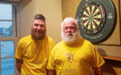 Stuart Forsyth and Haddy Taylor grew their beards for six months