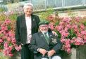 Alex Ross and his wife Olivia Burma Star Rose Garden