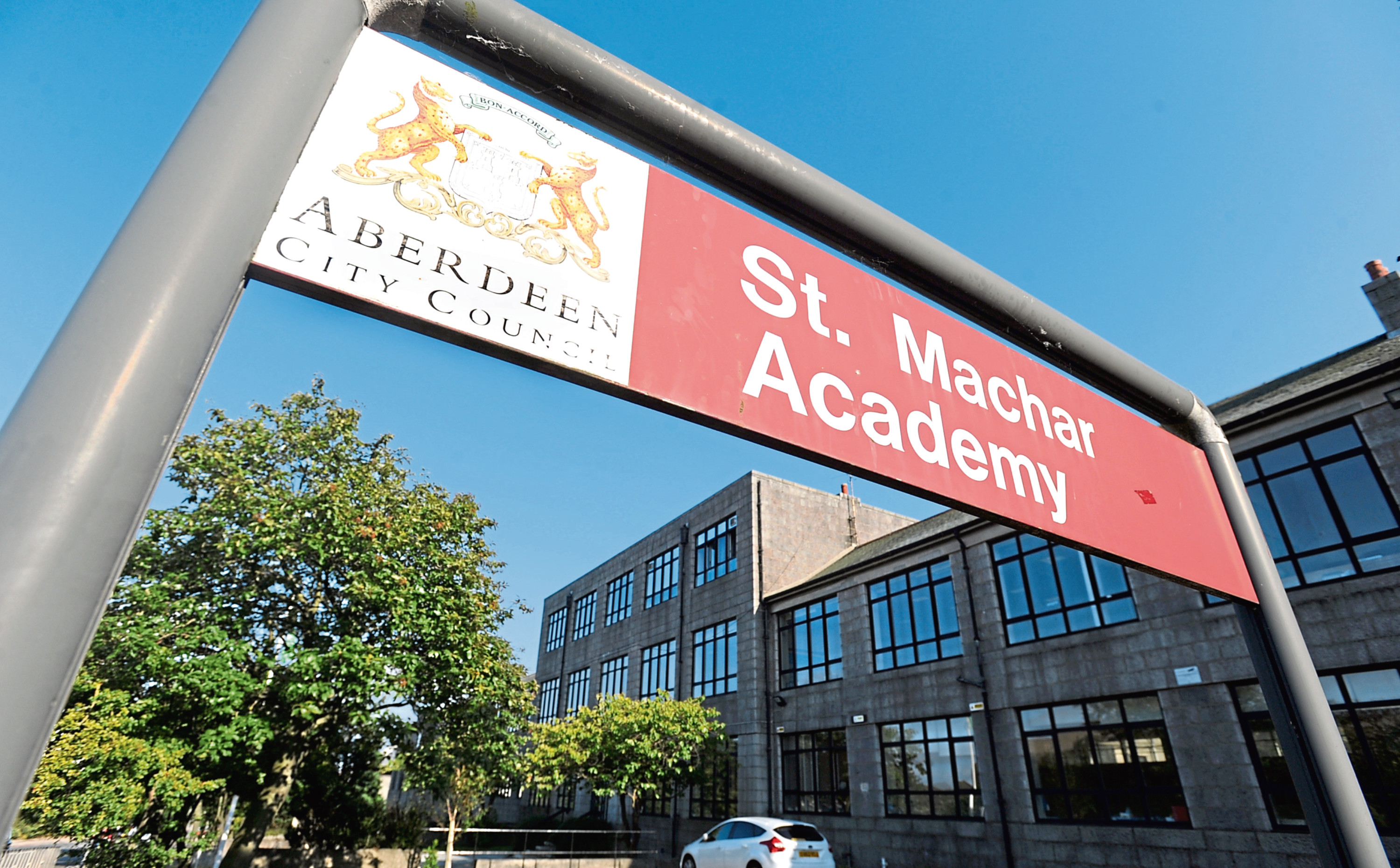 St Machar Academy had the highest number of vandalism incidents