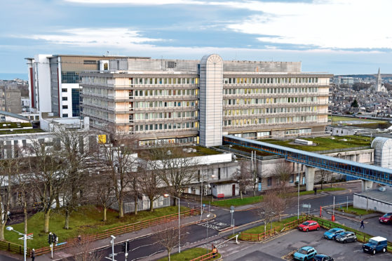 A total of 555 people failed to attend Aberdeen Royal Infirmary.