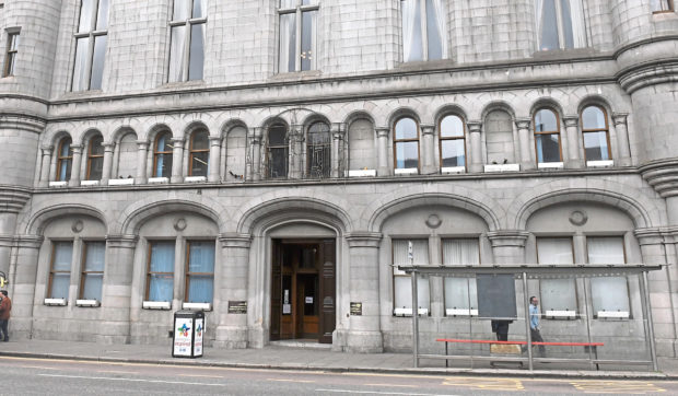 Murray and Beattie were handed fines at Aberdeen Sheriff Court