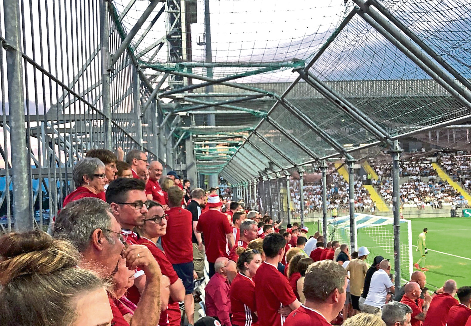 The Dons suffered a 2-0 defeat to Rijeka FC on Thursday