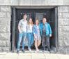 Andy McDonagh. Josephine Upton, Cheryl Upton and Stuart Duncan