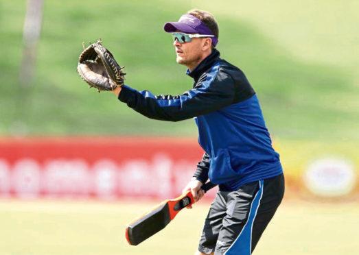 Scotland cricket head coach Shane Burger.
