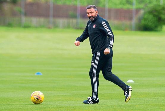 Aberdeen manager, Derek McInnes