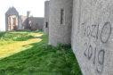 The vandalism at Slains Castle