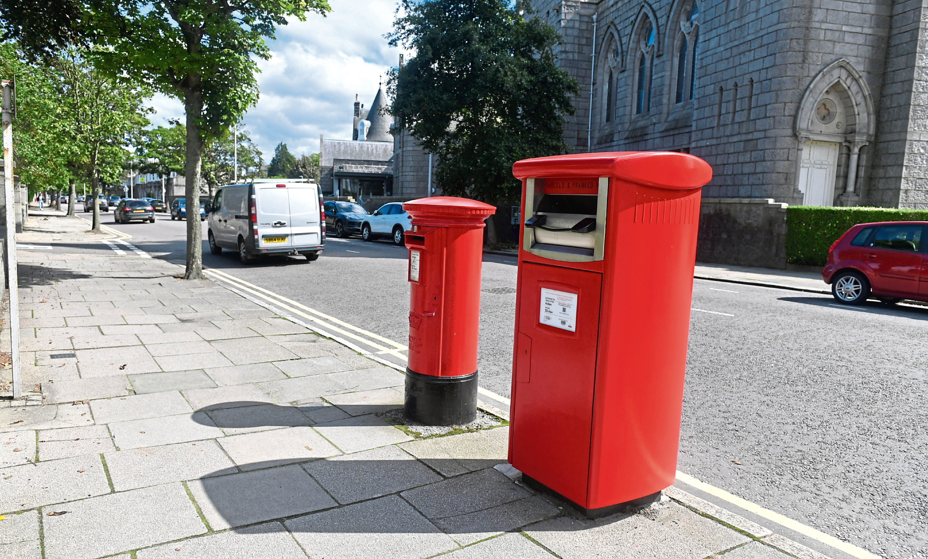 Around 1,400 existing boxes are planned to be converted, but all regular letter boxes will remain in place