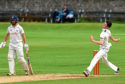 Aberdeenshire bowler Lewis Munro. Picture by KENNY ELRICK