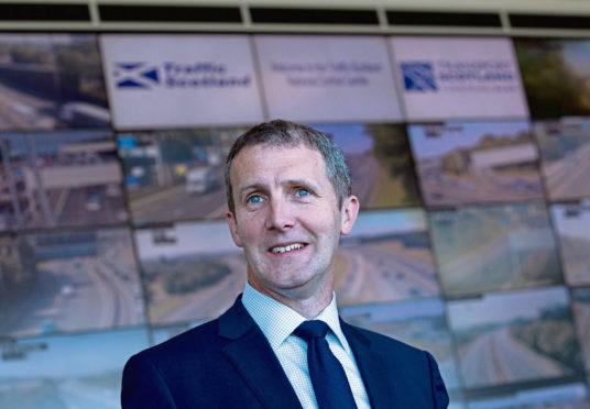 Scottish Transport Minister Michael Matheson