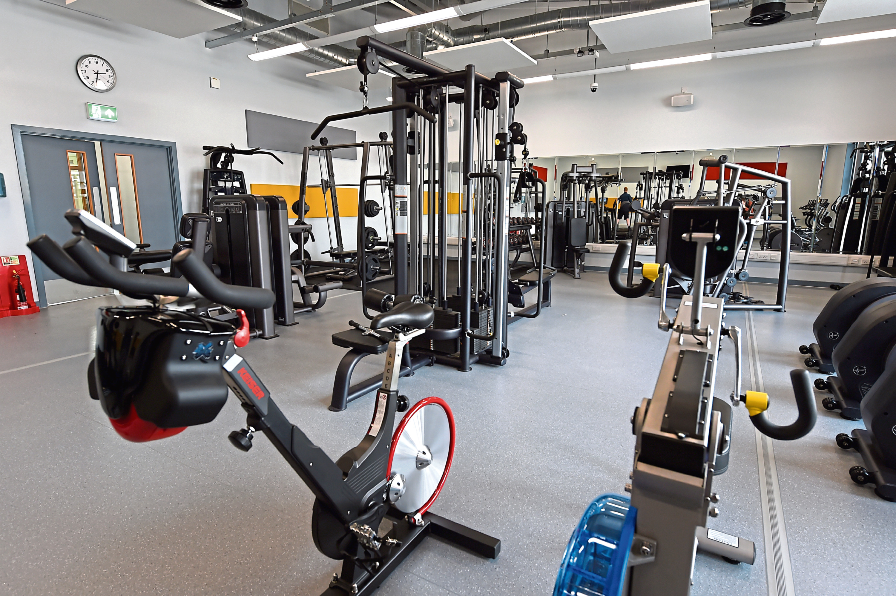 The new Banchory Sports Centre