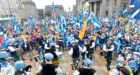 The rally in Castlegate