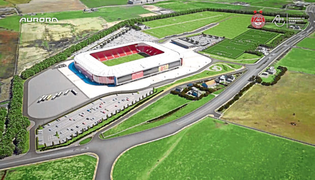Artist's impression of the Kingsford site