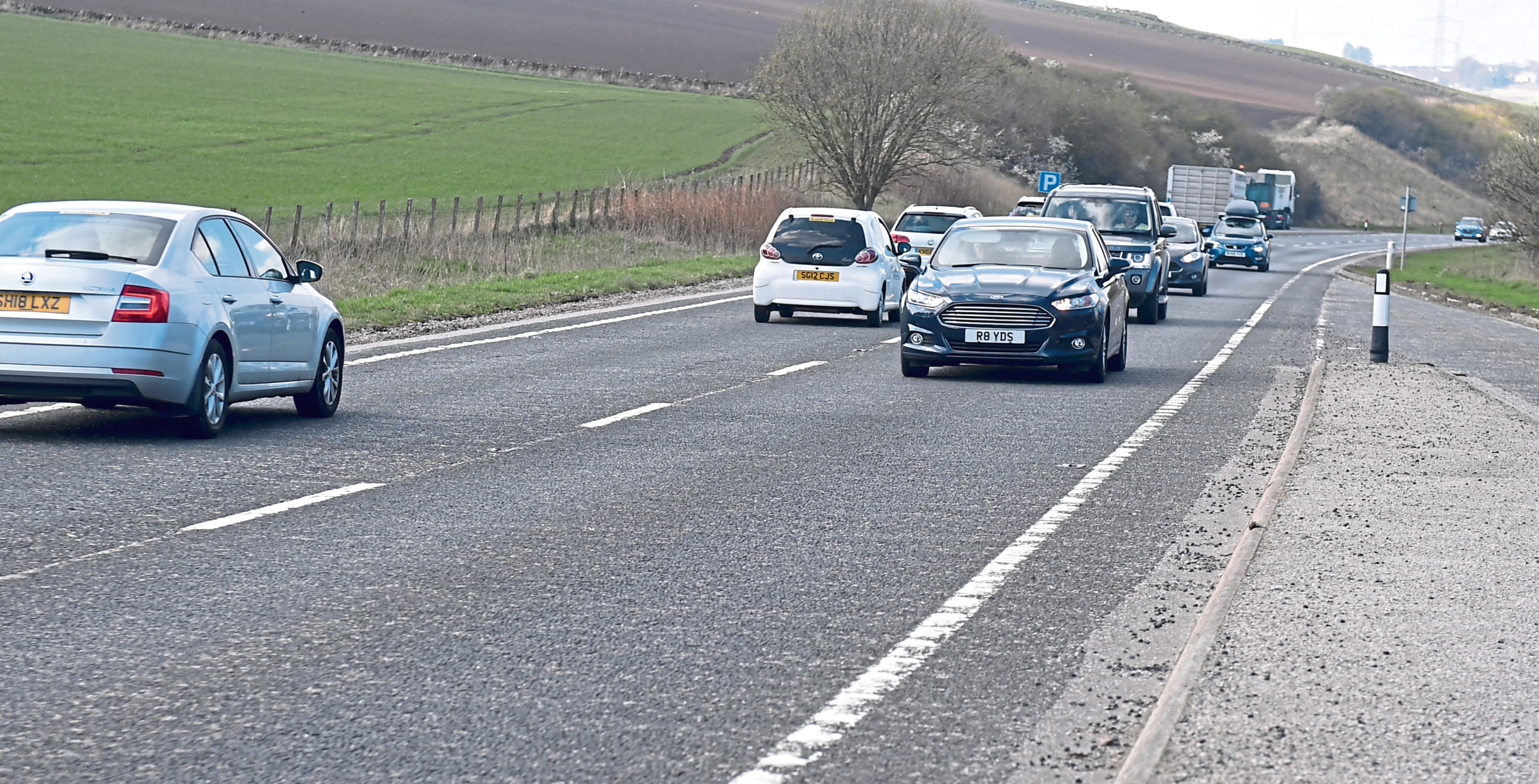 The A96 will not be dualled along its existing route