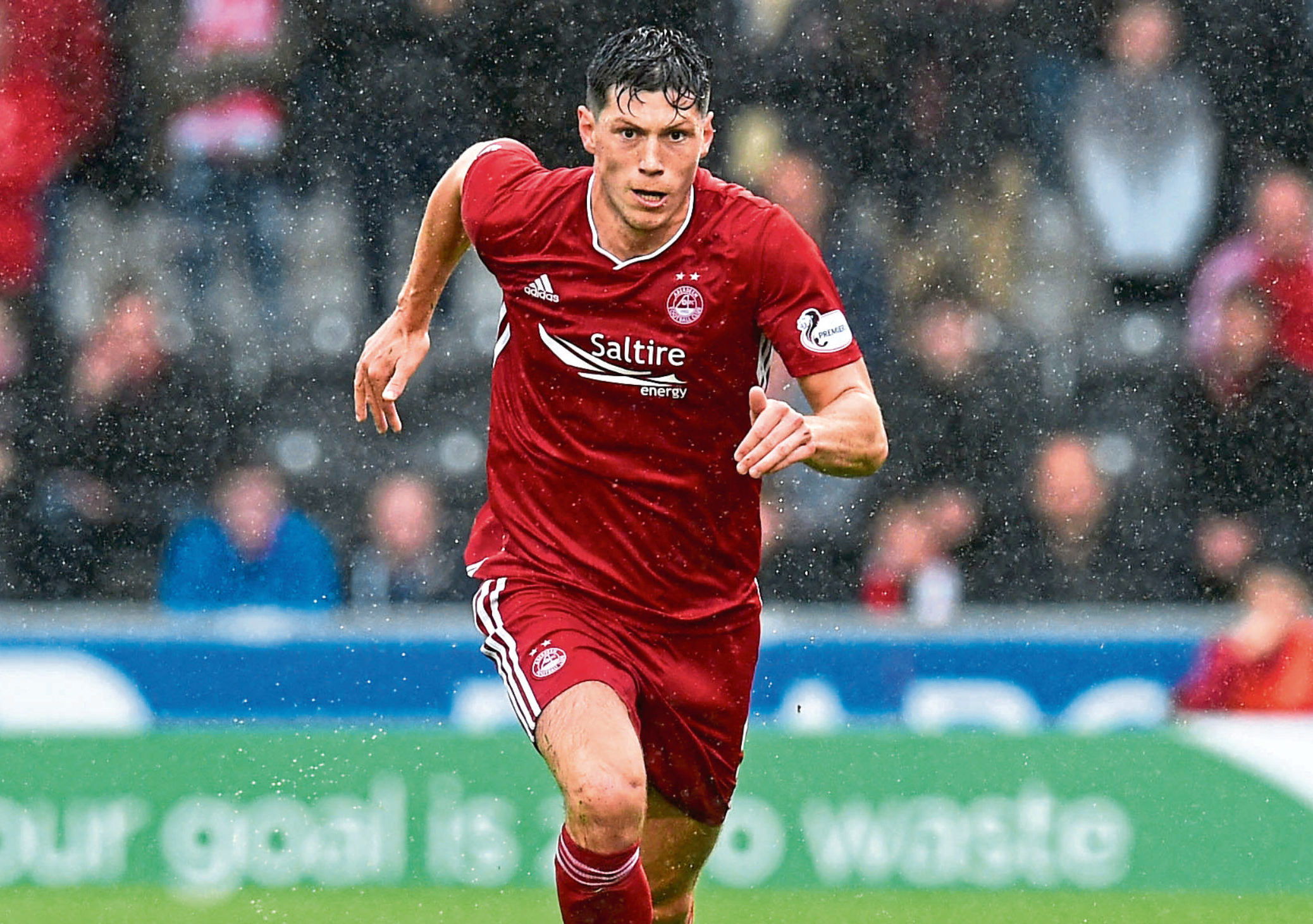 Aberdeen's Scott McKenna called the boys to thank them for their efforts