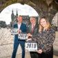 Adrian Watson, chief executive of Aberdeen Inspired, Aberdeen city councillor John Reynolds and Nikki Morris-Laing of VisitAberdeenshire