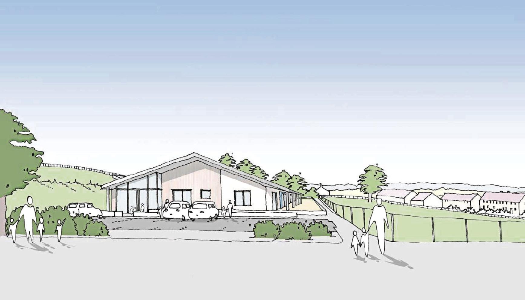 The proposed nursery at Cummings Park