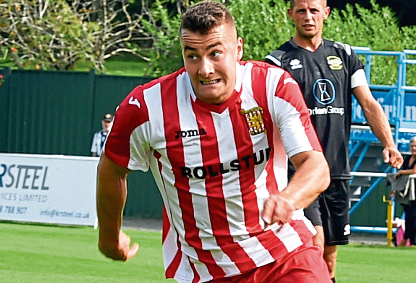 Formartine United's Scott Lisle