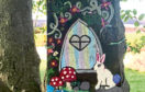 One of the fairy doors on the trail