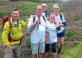 John Mitchell on his Munros challenge with wife Janet, and his friends