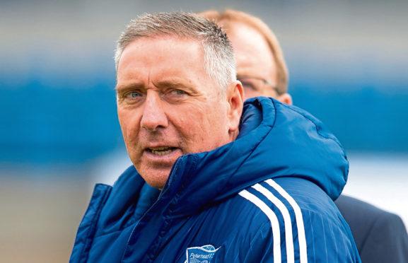 Peterhead' Manager Jim McInally