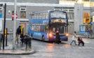 Aberdeen bus station.